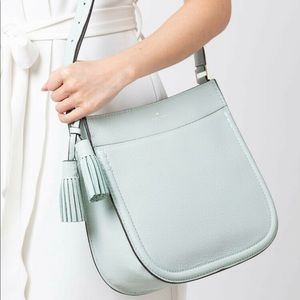 💕 NWT! Kate Spade Mint Hemsley Shoulder Bag